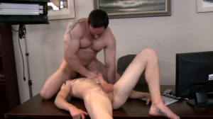 receive This On Film - Ryan Evans and Cole Brooks butthole plow