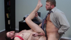 The leak - Colby Jansen with Brandon Moore pooper Hump