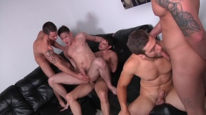 Brother Husbands - Duncan black & Donny Wright massive a-hole Hook up