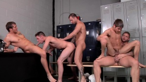 Football Fuckdown - penis Daily and Johnny Rapid ass hammer