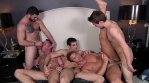 Tops only Required - Johnny Rapid and Rocco Reed anal Nail