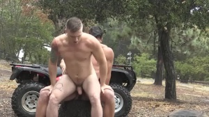 messy Rider two - large penis screw