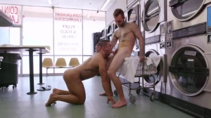 males In Public 32 - Laundromat - butthole First Time