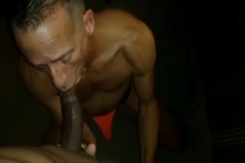 Muscle Daddy bareback pounded By Junior BBC