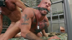 Barracks Buddies - Ricky Larkin with Sean Duran ass sex