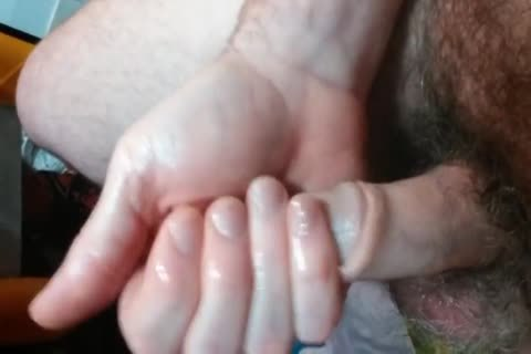 Slow Stroking My cock