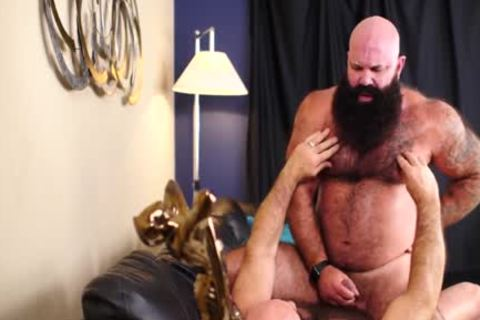 Two bushy Bearded Bears drilling lusty - Jason Victor West