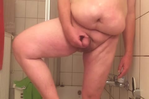 plump man stroking In The Shower For you