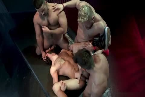 covered In The Loads Of Four supplementary-hung men
