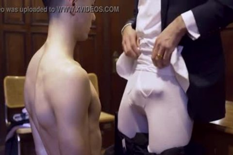 MormonBoyz - Ripped Missionary lad Permeates A Powerful Priests fine pooper