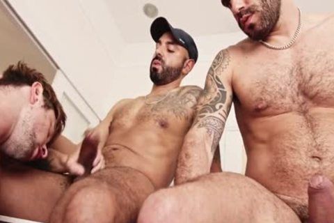 Drew Dixon Doublebarefucked By Adam Sahar & Francisco Sant
