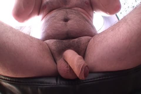 Playing Jerking And sperm Uncut Foreskin bushy bi-raunchy daddy's