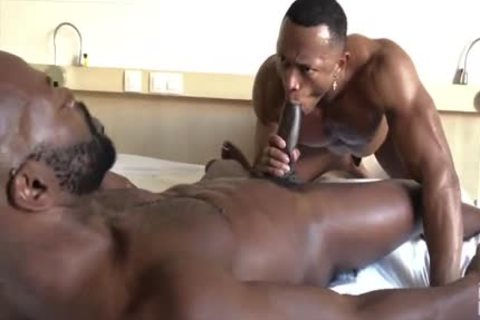 fucking That Muscle arsehole All Over The bed