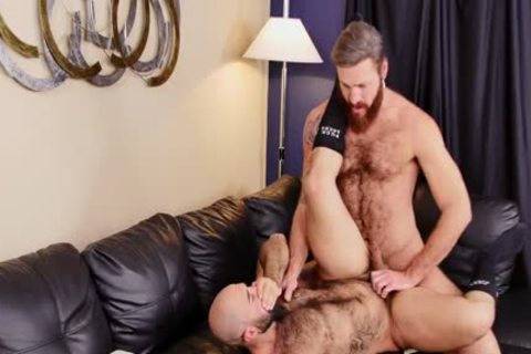 Atlas Grant Takes Bear penis And Swallows cum