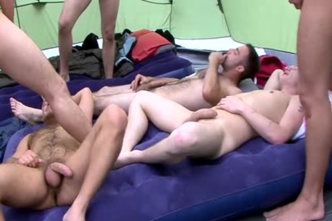 Camping orgy