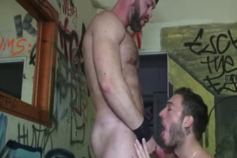 raw Outdoor plow while A Voyeur Observes