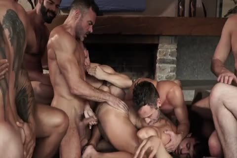 bare With 11-fellow's orgy