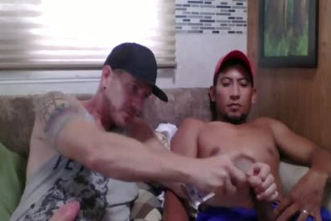 Straight Latino Construction Worker acquires First cook jerking From A man (Martin 2)