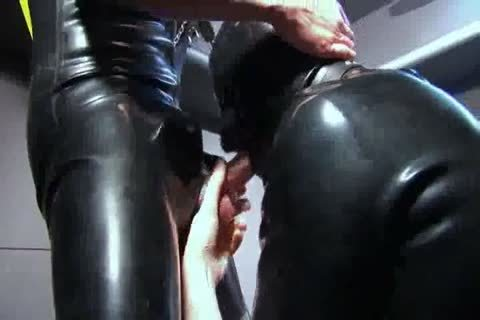 sucking And pounding In Rubber