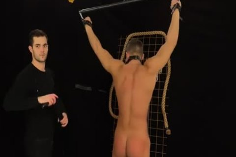 Muscled Hunks receive Bums Damaged In A Merciless bondage & Discipline Game