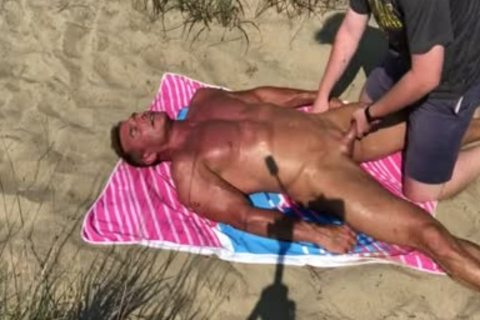 Dilf fucked On The Beach