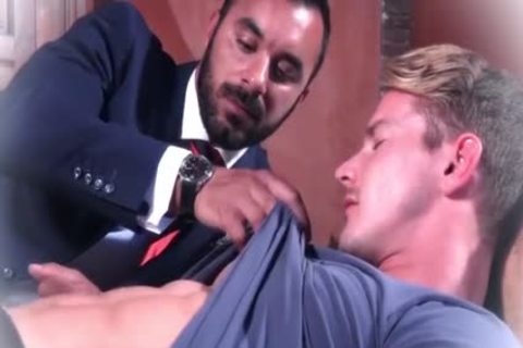 Muscle gays anal sex And sperm flow