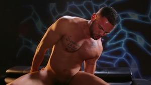 Highlighting His Monster weenie - Lex Sabre with Julian Knowles butthole Lovemaking