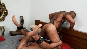 booty chained - Bruno Turbo butthole Hook up