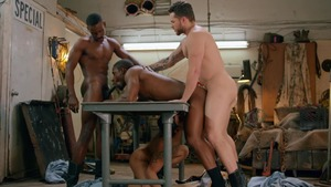 Tom Of Finland: Service Station: raw - Ricky Roman & River Wilson American Hook up