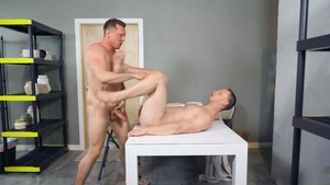 anal swap - Pierce Paris with Brandon Evans American nail