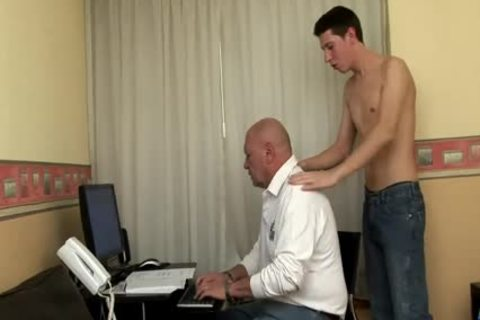 large Dicked twink bangs old fat old man