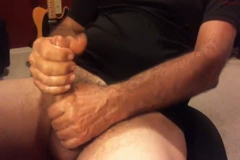 humongous Moaning grand-dad shoots his spunk