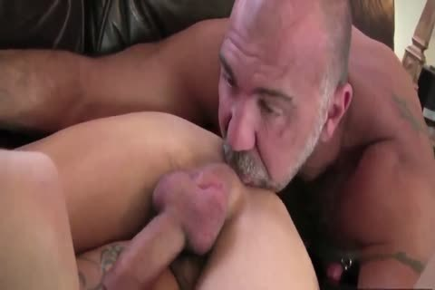 DADDY TRAINS YOUR anal WITH HIS throbbing dick