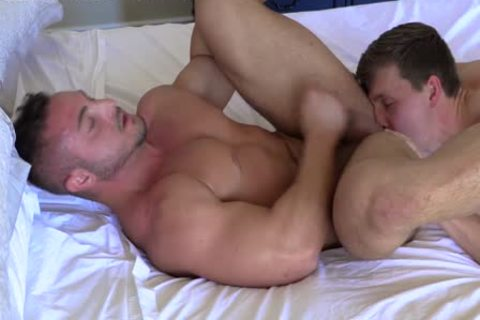 straight Stroking Each Other RIGHT previous to butthole pound! yummy rods