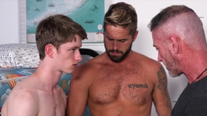 FamilyDick - Felix Maze smashed by balls stepfather