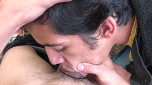 LatinLeche: Too cute tight hunk raw moaning on the nature