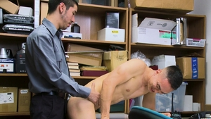 Young Perps - Officer Marcus Tresor masturbation in the bath