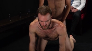MissionaryBoys - Hairy Elder Ingles butt plug in panties