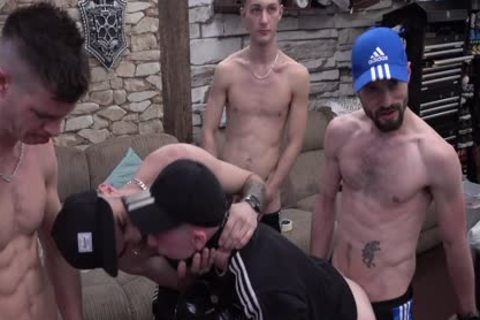 Quarantined N desperate twinks bang 'resident cum Dump' On LockDown cam Show