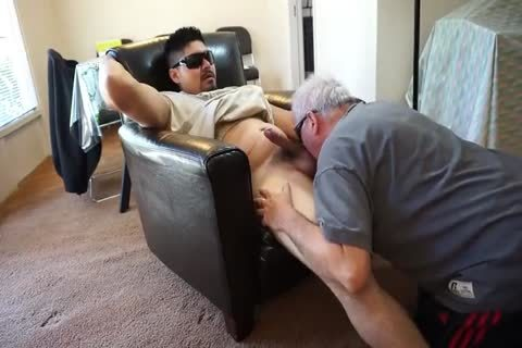older man sucking And anal drilling Younger