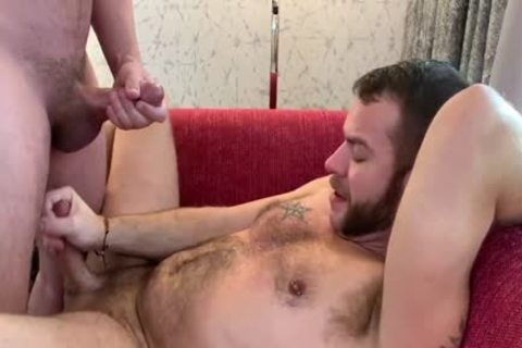 Two horny males With Average Bodies