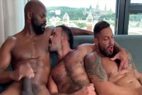 I'm A Fan Of His Way Of Engulfing And Being Bottom: Damn So wild 3some
