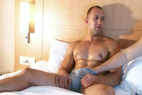 str8 chap In A homosexual Porn In Spite Of Him : Igor My Gym Trainer
