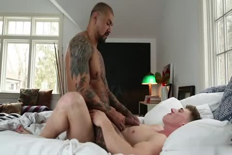 Straight College dudes Sharing A cum Load