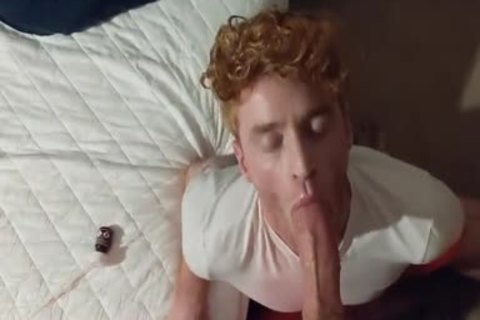 Blown By young Ginger shaggy-haired twink