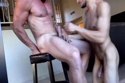 Daddy Derek fucks Ethans taut hole - FULL DOMINATION - amazing Facial