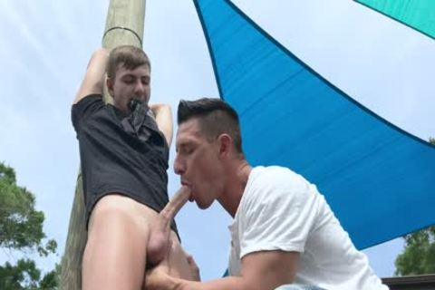 Nephew acquires tied Up And hammered By Step-Uncle