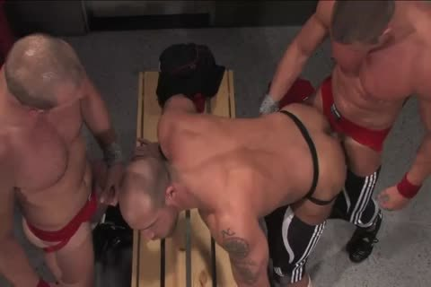 Jake Deckard, Tyler Saint And Scott Tanner three-some