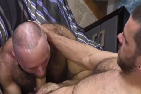curly Teddy Bear banging monstrous Cocked Hunk