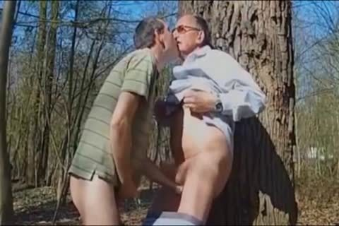 DADDY pounding grand-dad IN THE WOODS 3